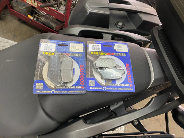 EBC brake pads for Honda NC750X