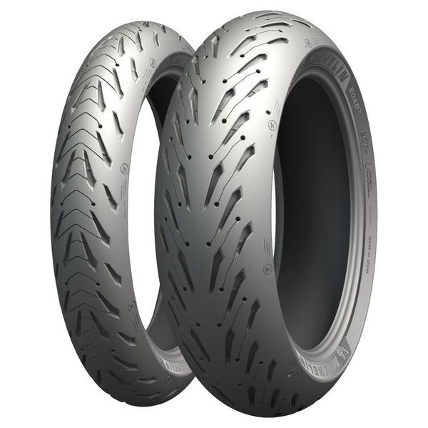 Michelin Pilot Road 5 2CT 120/70-17 + 180/55-17 AAE $390