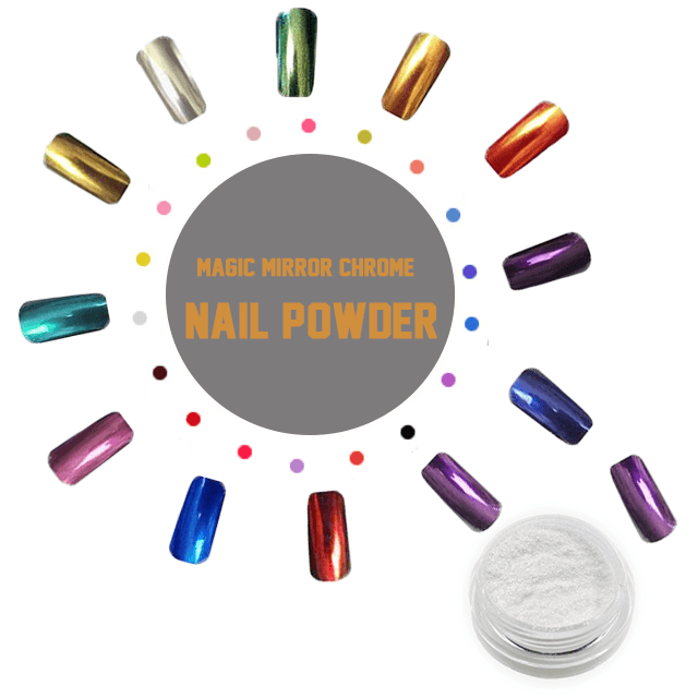 Magic Mirror Chrome Nail Powder