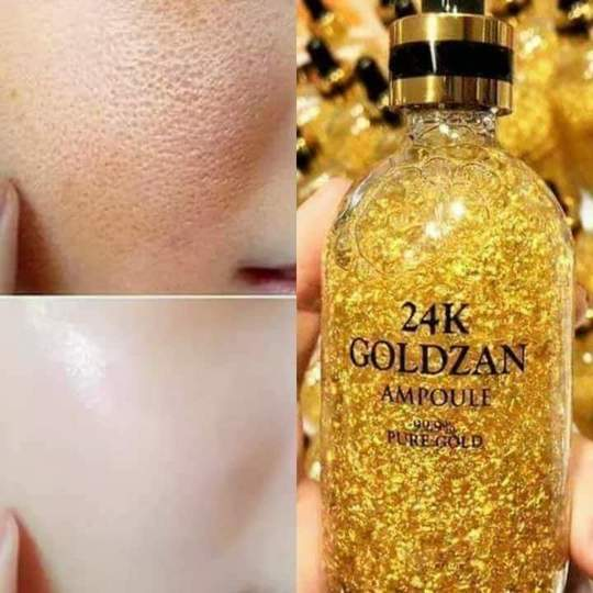 Authentic 24K Gold Bar Sculptor Massager Plus Get Free 24k Gold Ampoul Facial Serum