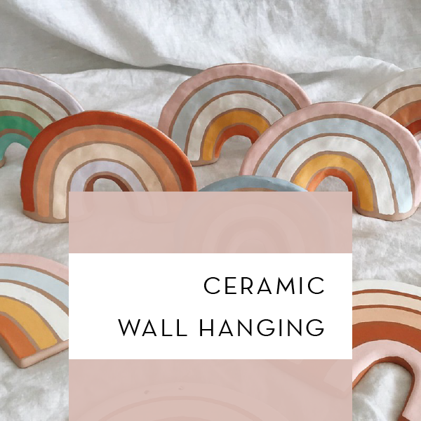 Ceramic Wall Hanging | Wednesday Oct 9 1pm-3pm