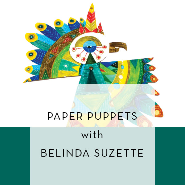 Paper Puppets | Wednesday Jan 8 10am-12pm