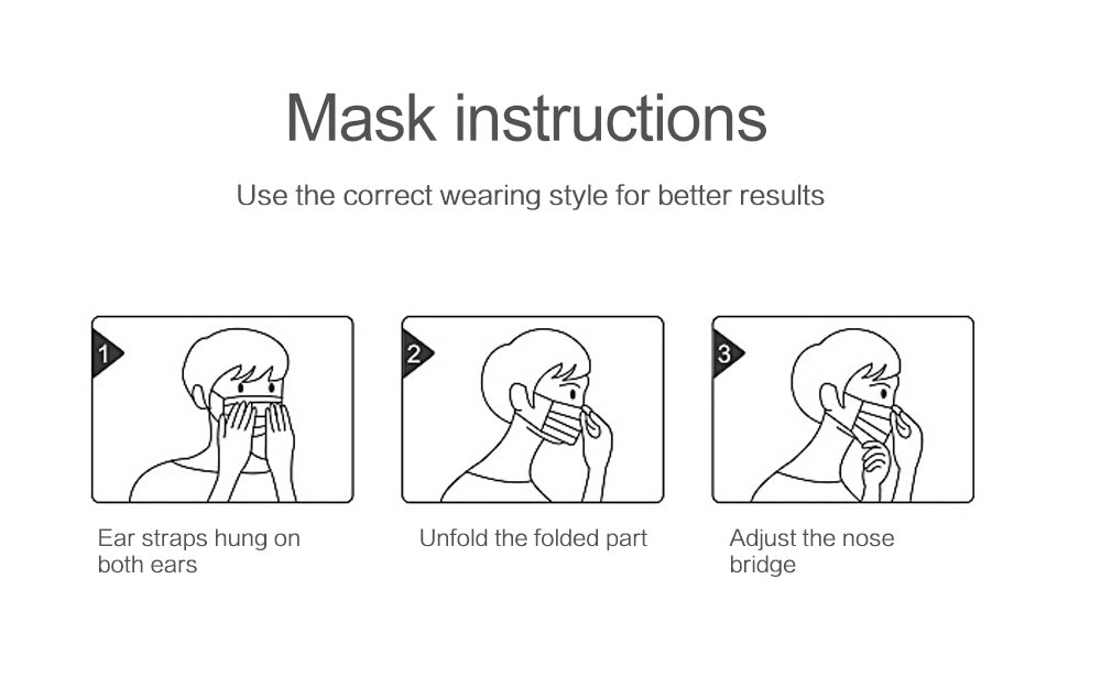 Face Mask For Adults - Version 1
