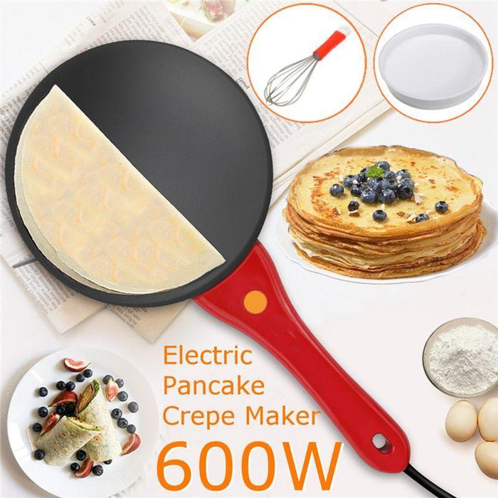 Portable Electric Crepe & Pizza cooker