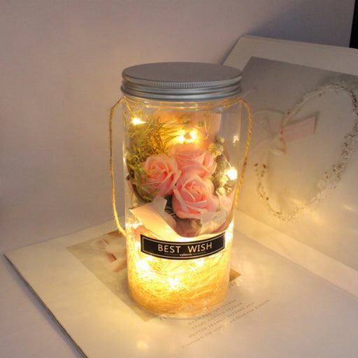 Mother's Day Rose Flower Bottle