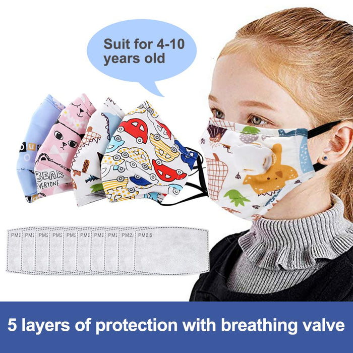Air Filter Face Mask For Kids