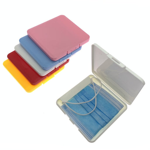 Face Cloth Storage Box / Silicone Ear-Relief / Adjustable Lanyard
