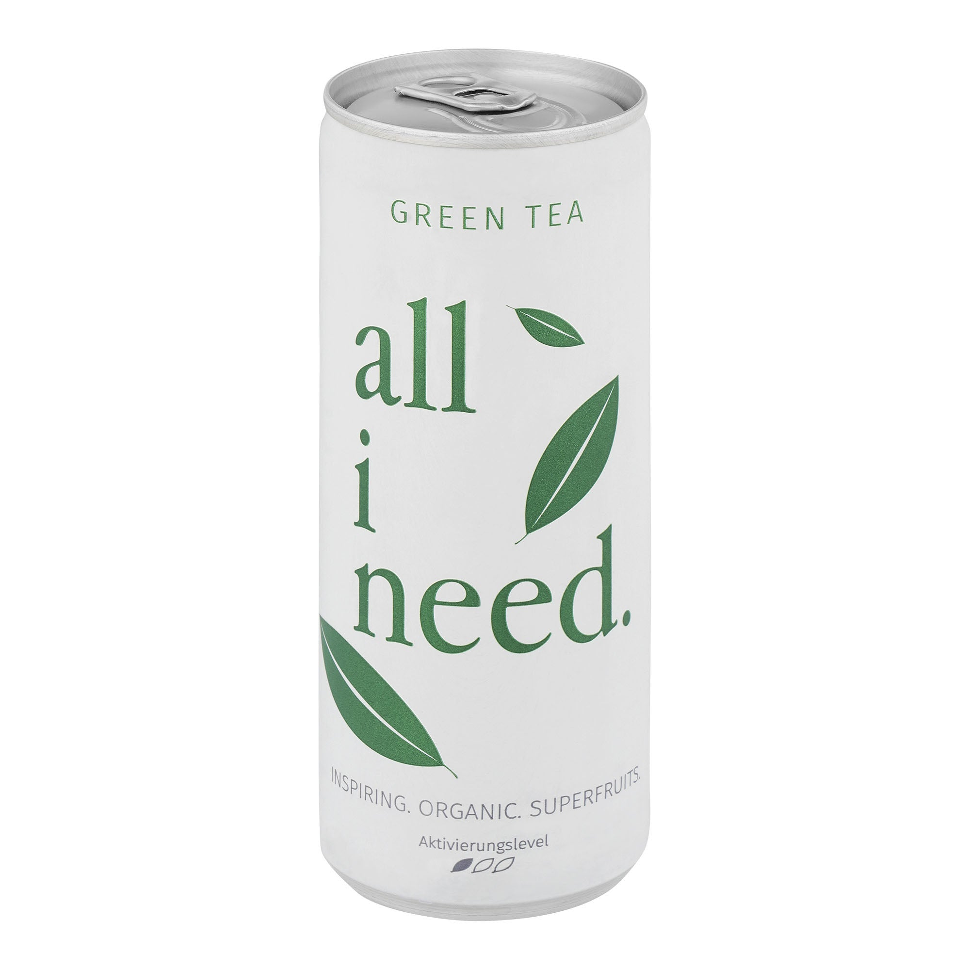 All I need Green Tea 12 x 250ml