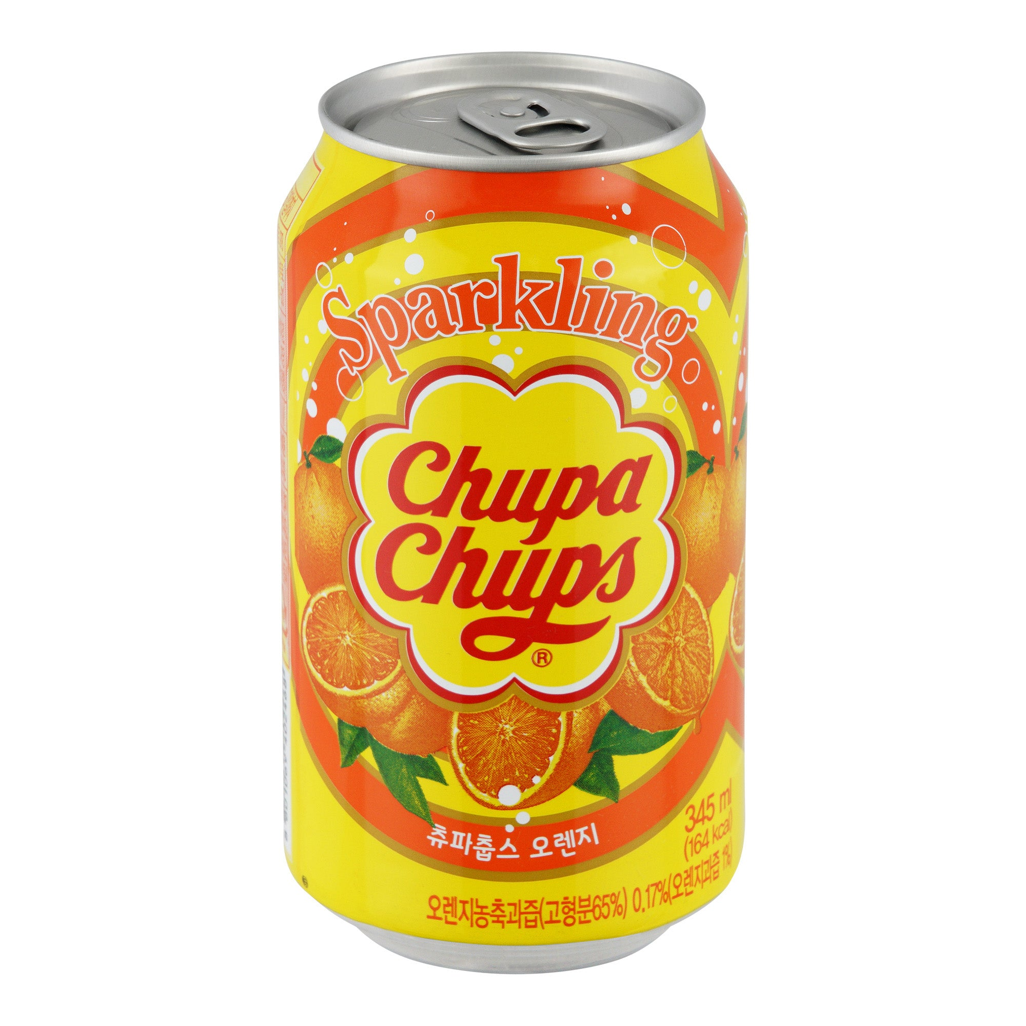 Chupa Chups Soda Orange Flavour 24x330ml