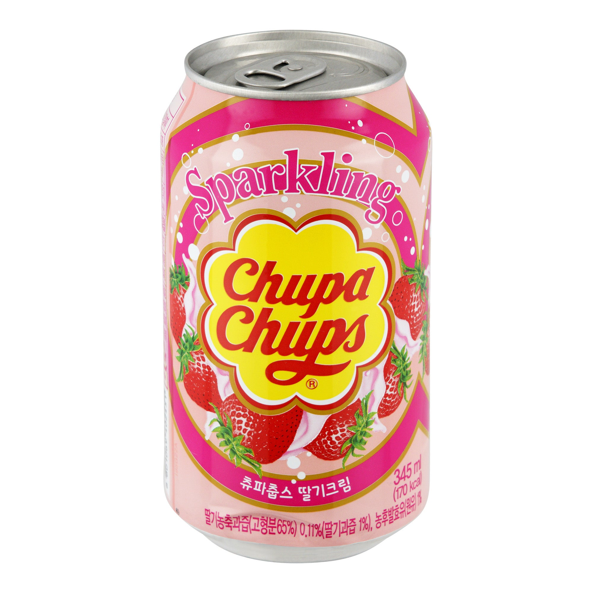 Chupa Chups Strawberry Cream Flavour 24x330ml