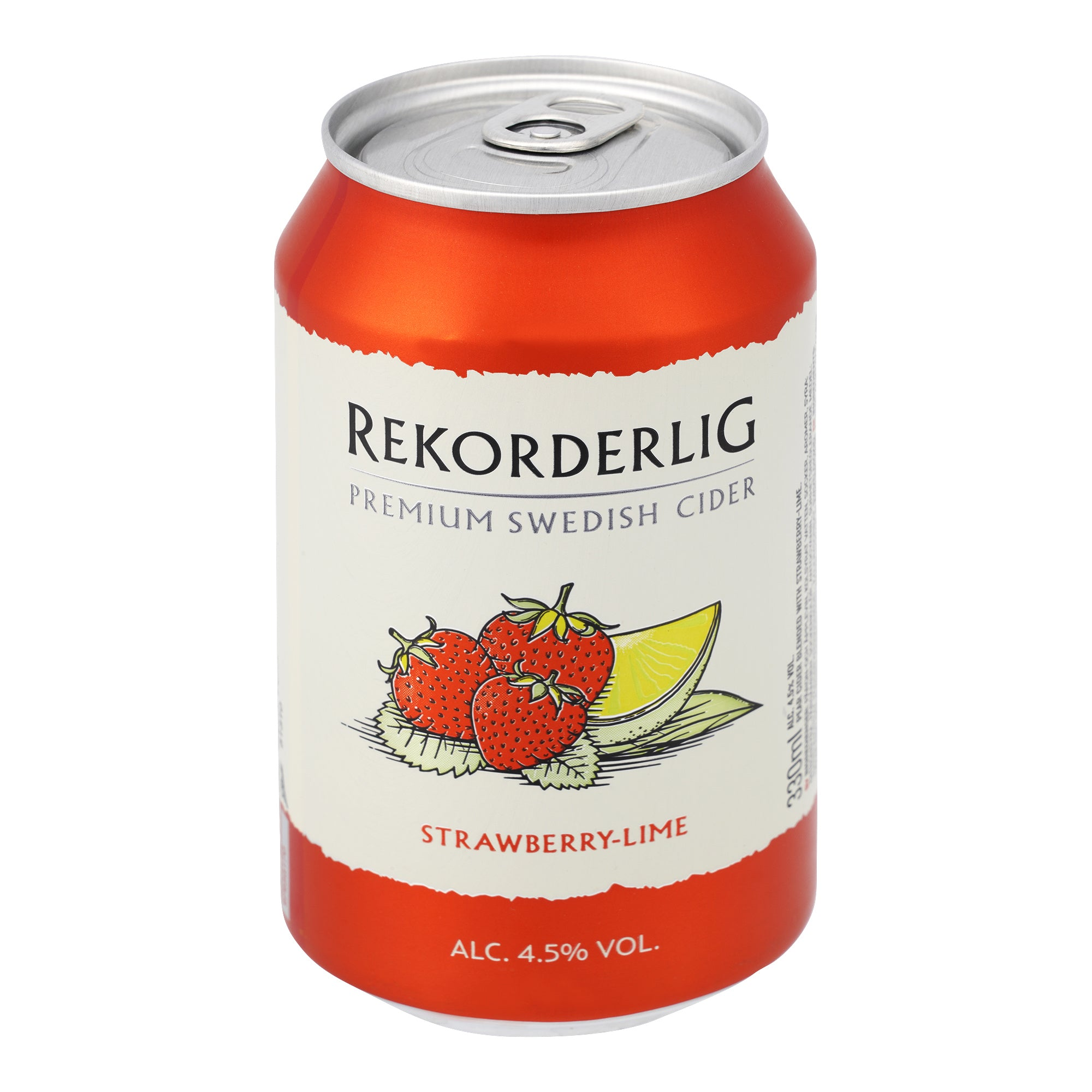 Rekorderlig Strawberry-Lime 24x330ml Pfandfrei