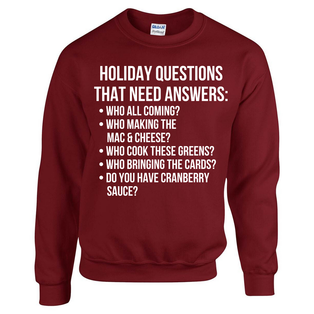 Holiday Questions