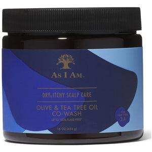As I Am Olive OIl & Tea Tree CoWash