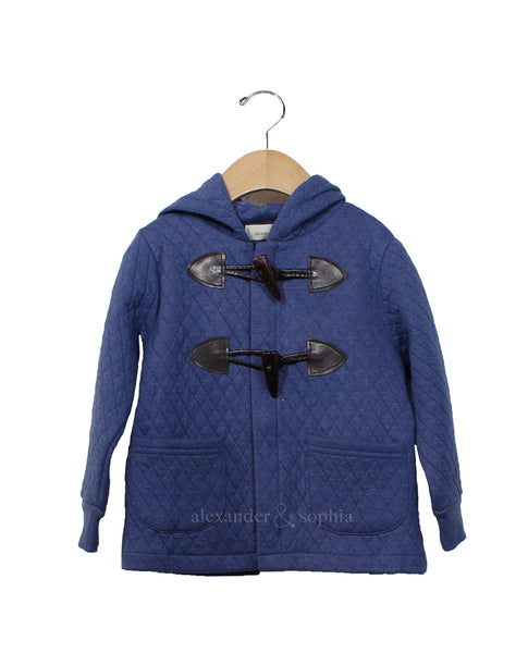 The Taylor Quilted Jacket (Marine Blue)