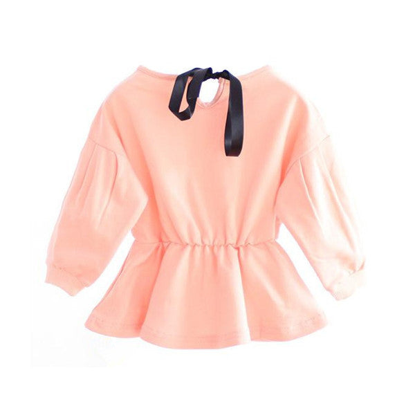 The Lily Bow Top (Rose)