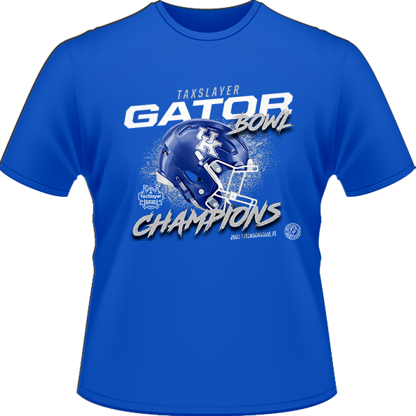 2021 KENTUCKY WILDCATS CHAMPION TEE