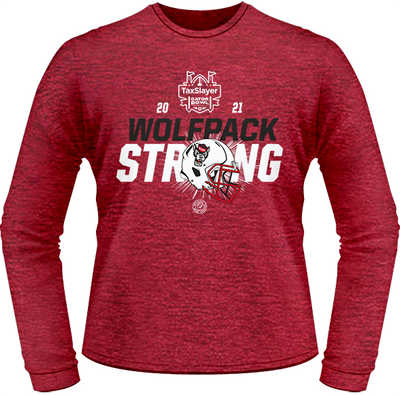 2021 NC STATE WOLFPACK TONAL LONG SLEEVE