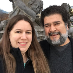 A picture of Mary Hunter and Jesús Rosales-Ruiz