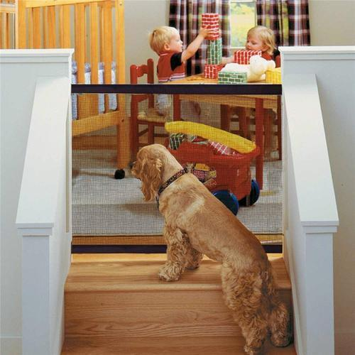 (Last Day Promotion&50% OFF)Portable Kids &Pets Safety Door Guard