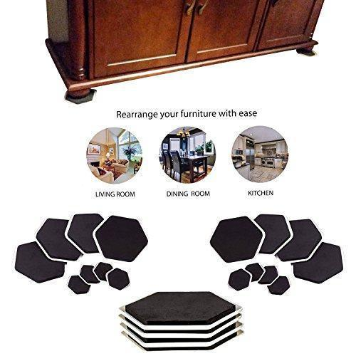 Magic Furniture Moving Sliders (8 Pcs)