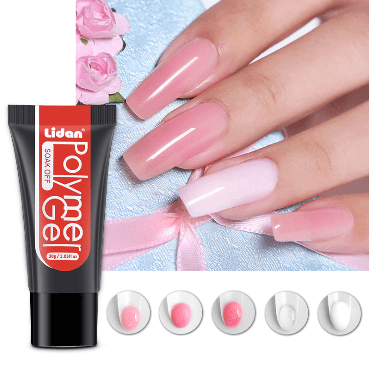 Gel Nail Extension Set