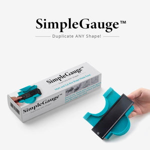 SimpleGauge™ - Mark and Cut Any Shape Made Easy!