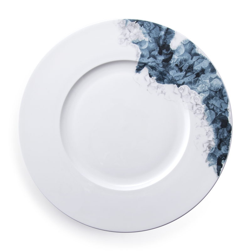 DINNER PLATES SET 4 - moody blooms