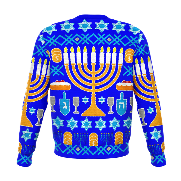 Hanukkah All over print Sweater