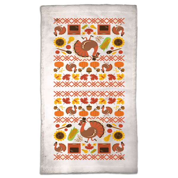 Thanksgiving Turkey Hand Towels
