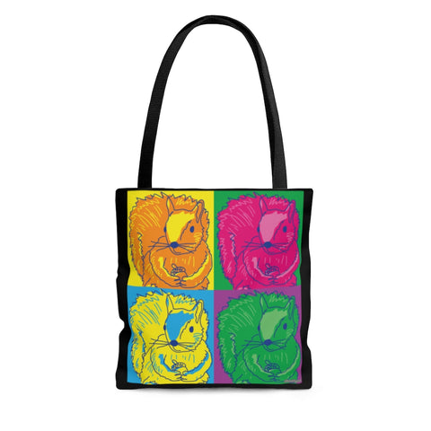 Neon Pop Art Squirrels - Tote Bag