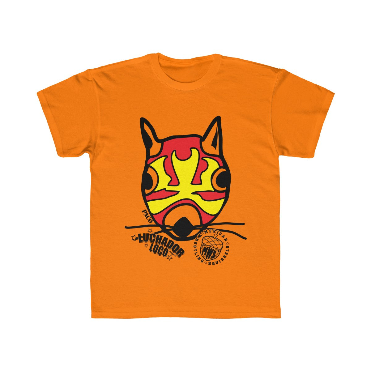 Paco - Mexican Wrestling Squirrels - Kids Regular Fit Tee