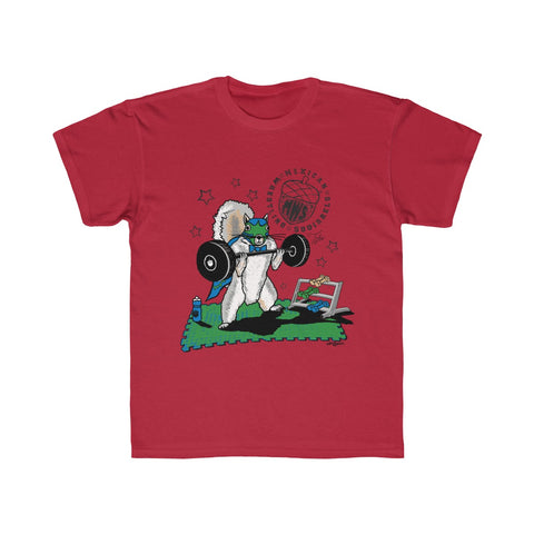 Tito Lifting - Mexican Wrestling Squirrels - Kids Regular Fit Tee