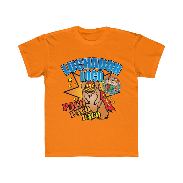 Paco Poster - Mexican Wrestling Squirrels - Kids Regular Fit Tee