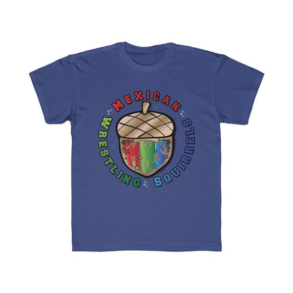 MWS Logo - Mexican Wrestling Squirrels - Kids Regular Fit Tee