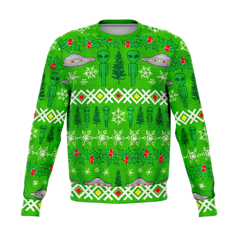 All Over Print Ugly Christmas Sweaters