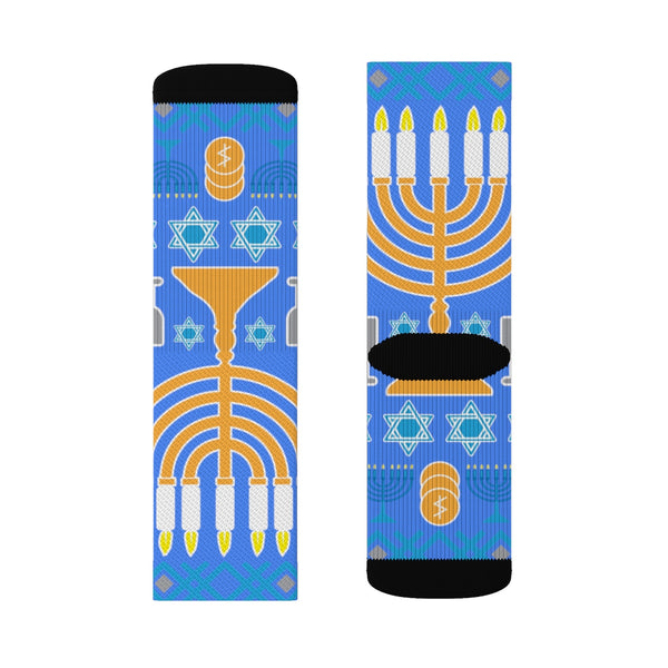 Hanukkah - Sublimation Socks