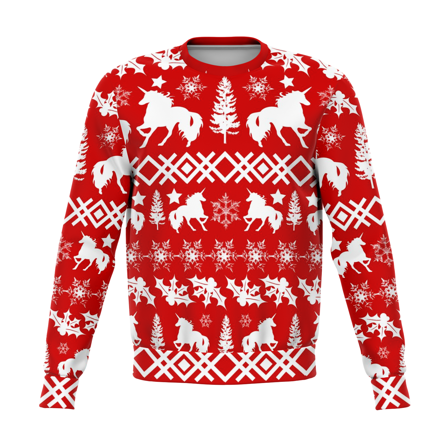 Unicorn Ugly Sweater - All over print