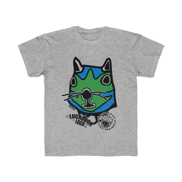 Tito - Mexican Wrestling Squirrels - Kids Regular Fit Tee