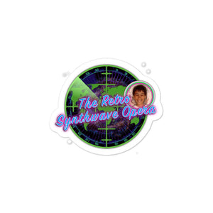The Retro Synthwave Opera - Bubble-free sticker