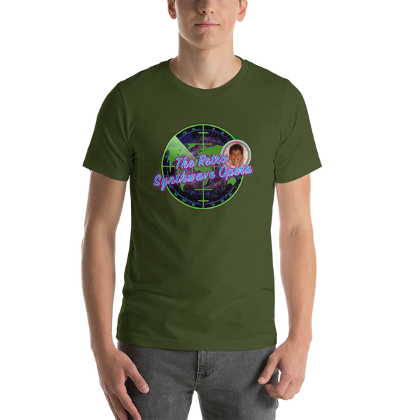 The Retro Synthwave Opera - Short-Sleeve Unisex T-Shirt