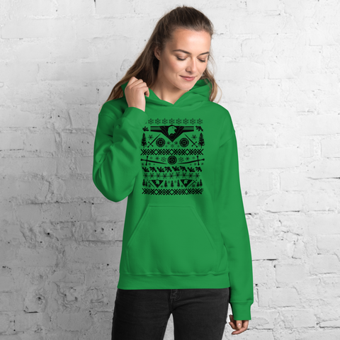 Warrior (black ink) - Unisex Hoodie