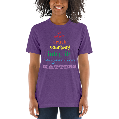Love + Truth - Short sleeve t-shirt