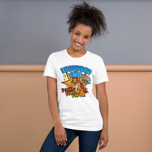 Paco Poster - Mexican Wrestling Squirrels - Short-Sleeve Unisex T-Shirt