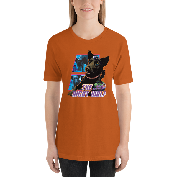 The Night Wolf - Short-Sleeve Unisex T-Shirt