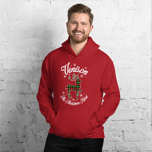 Venison, The Christmas Meat - Unisex Hoodie