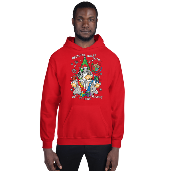 Mexican Wrestling Squirrels Holiday - Unisex Hoodie