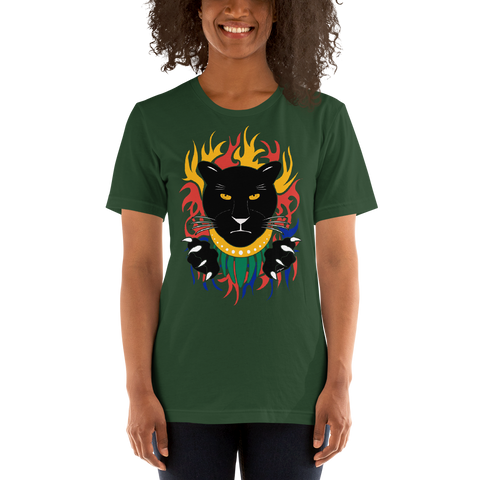 Hero Panther - Short-Sleeve Unisex T-Shirt