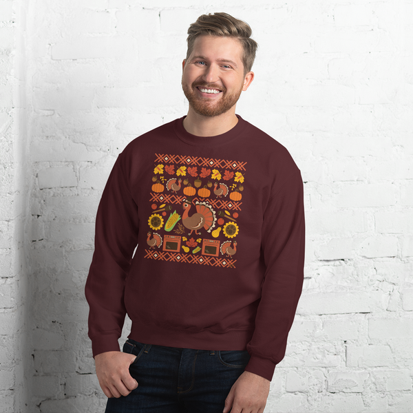Thanksgiving Turkey - Unisex Sweatshirt