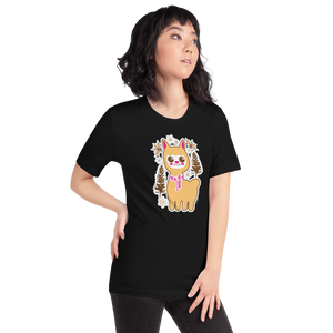Holiday Kawaii Llama - Short-Sleeve Unisex T-Shirt