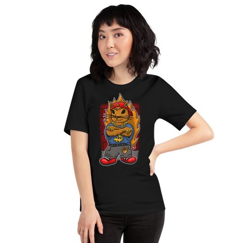 Hip Hop Squirrel - Short-Sleeve Unisex T-Shirt